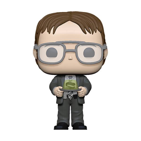 Pop! Vinyl Figurine Pop! Dwight Avec Aggrafeuse Dans Gelée - The Office