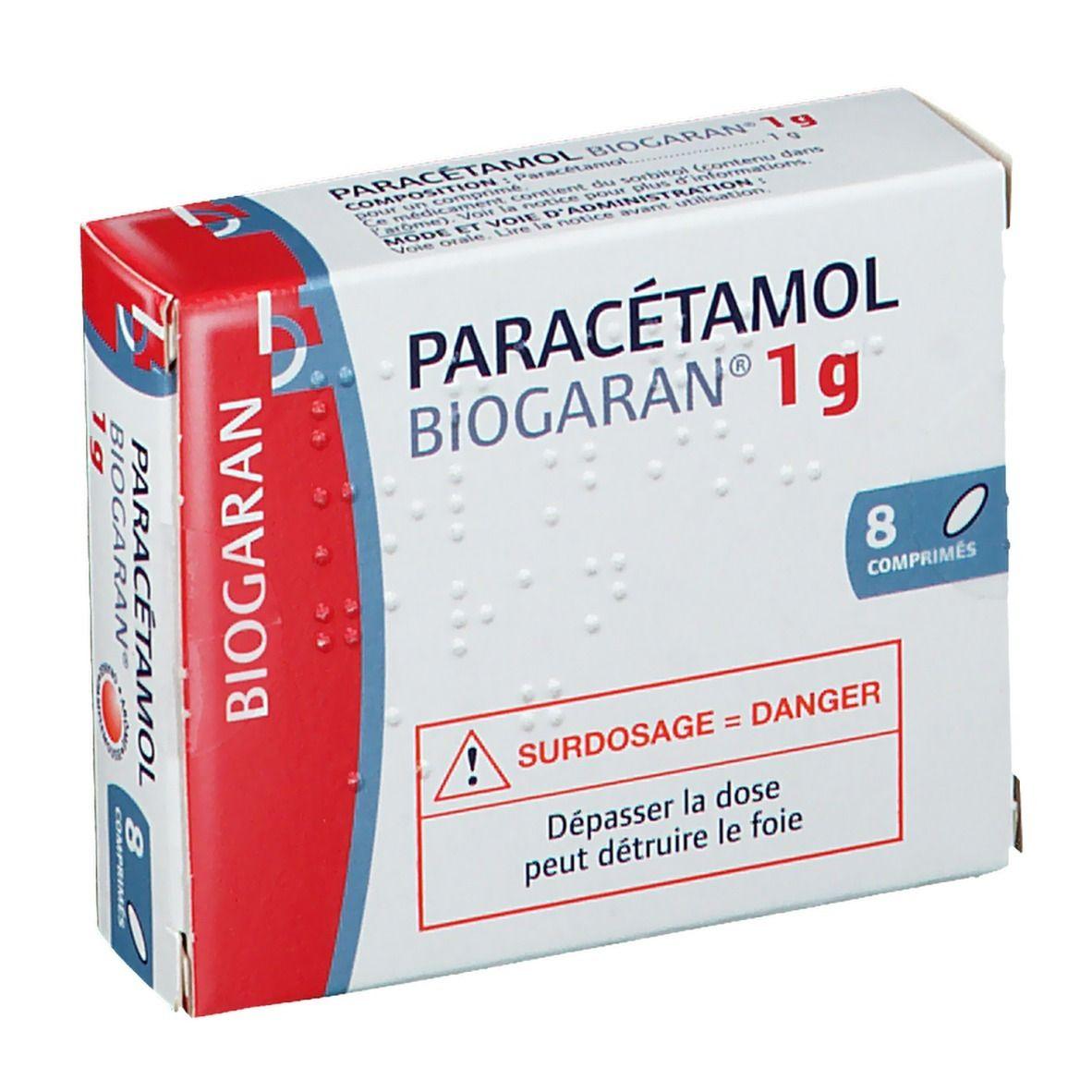 Biogaran® Paracétamol Biogaran® 1 g pc(s) comprimé(s)