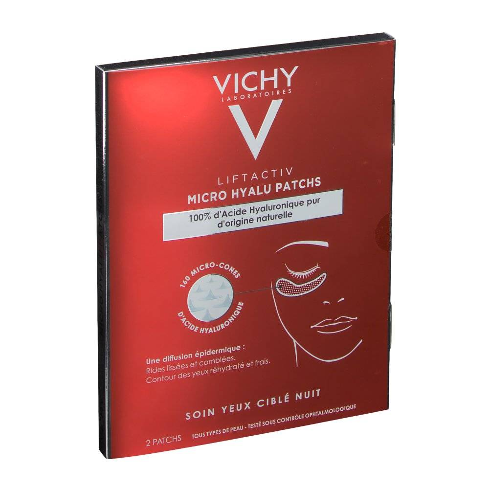VICHY Liftactiv Micro Hyalu patchs pc(s) compresse(s)