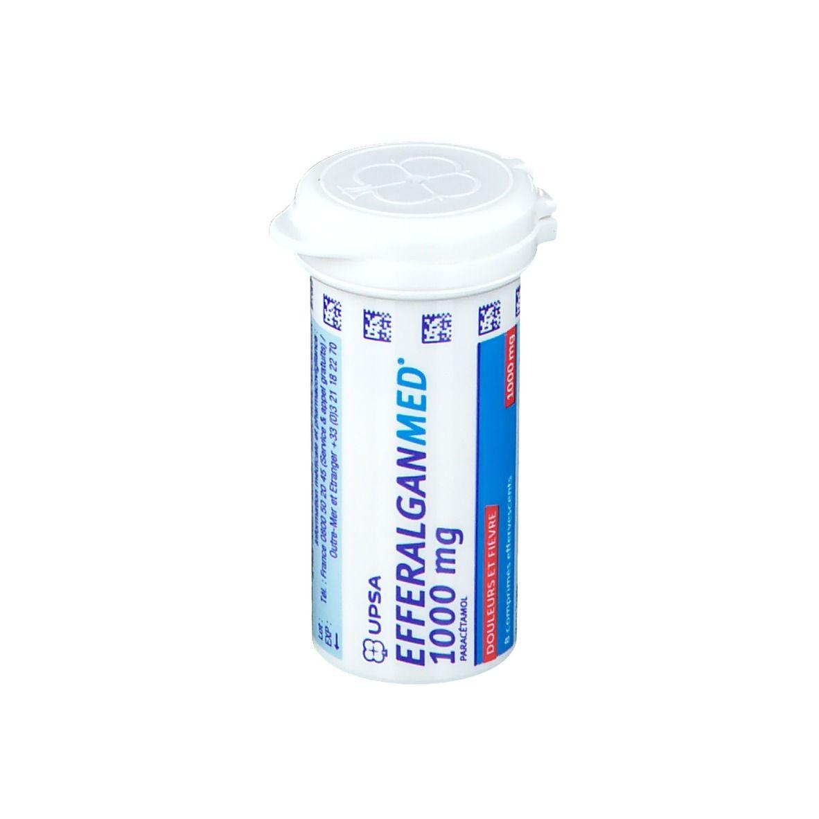 Efferalgan® 1 g pc(s) comprimés effervescents