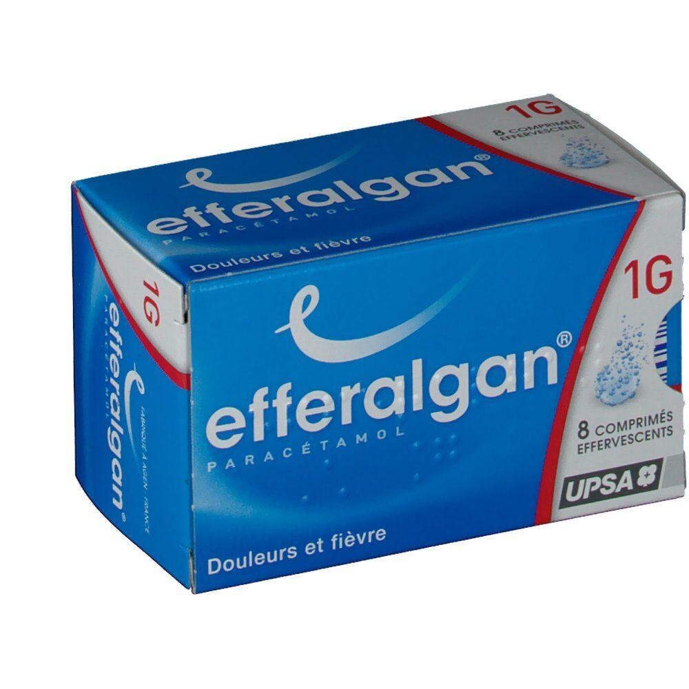 Efferalgan®1g pc(s) comprimés effervescents