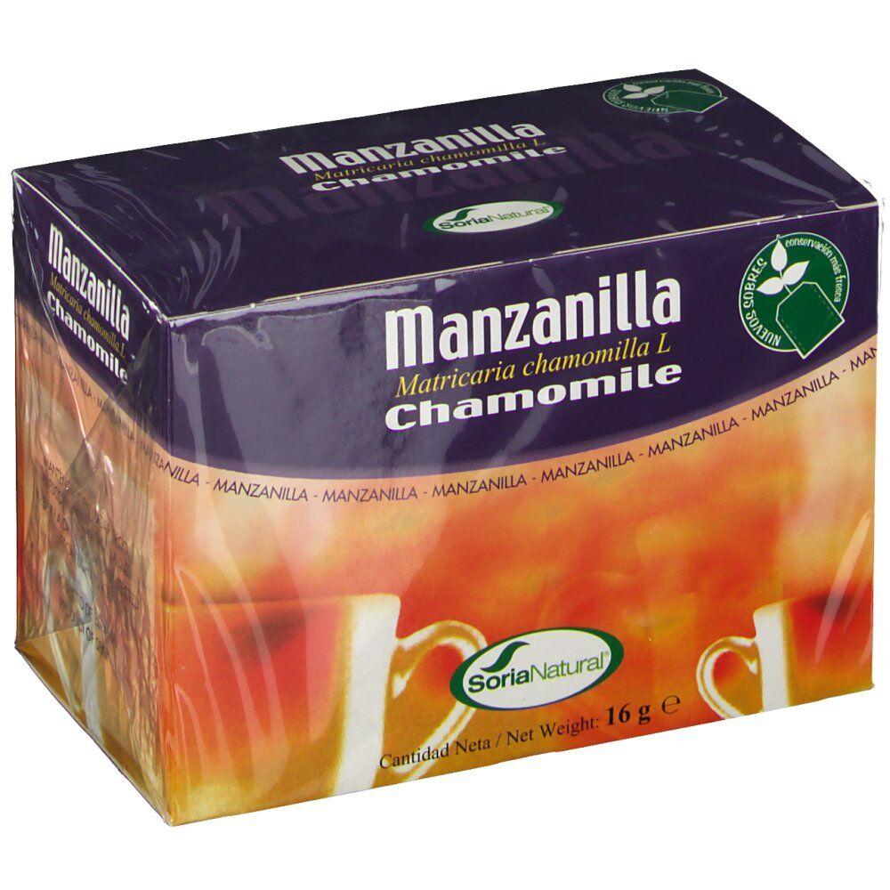 SoriaNatural® Soria Natural Natusor Theé Camomille 20 pc(s) 8422947030353