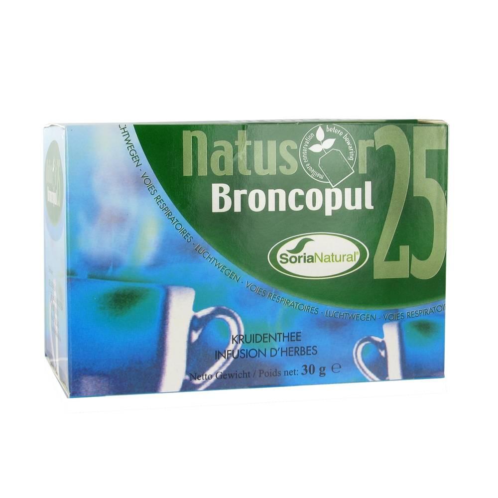 SoriaNatural® Soria Natural Natusor 25 Broncopul Tea 20 pc(s) 8422947030513