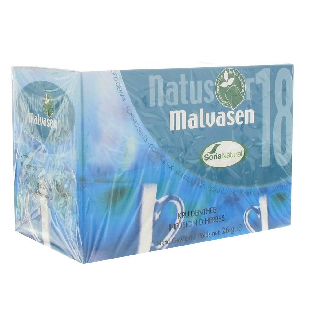 Soriabel Soria Natural Natusor 18 Malvasen Tea 20 pc(s) 8422947030391