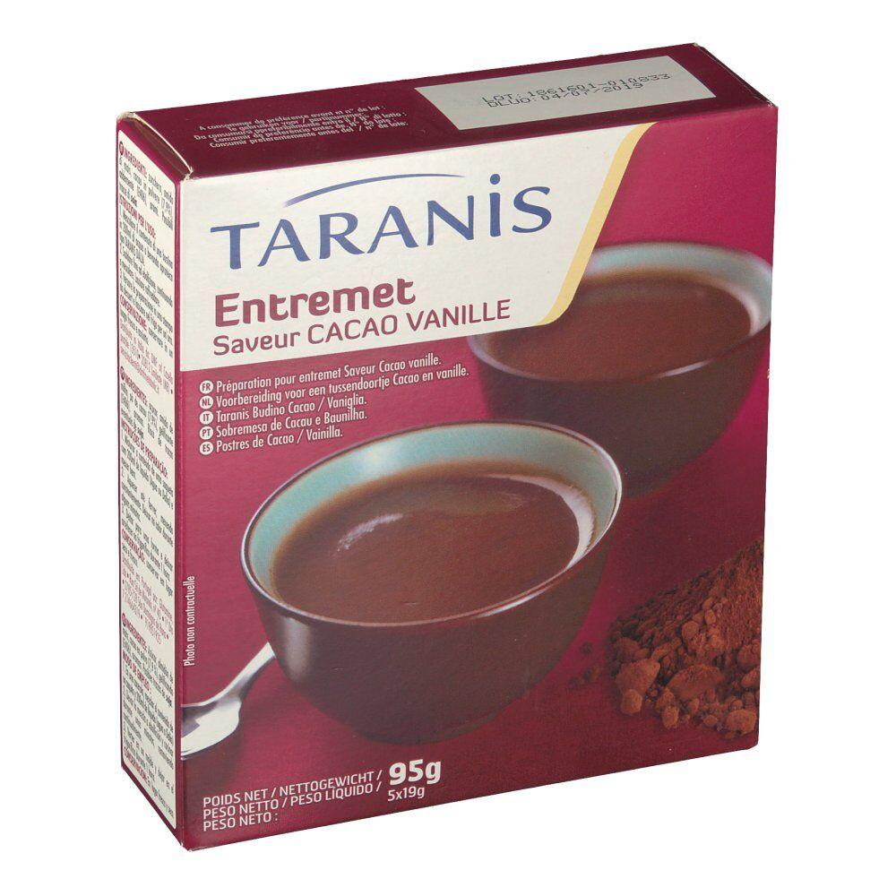 Revogan Taranis Entremet Saveur cacao vanille 95 g 3401276818363