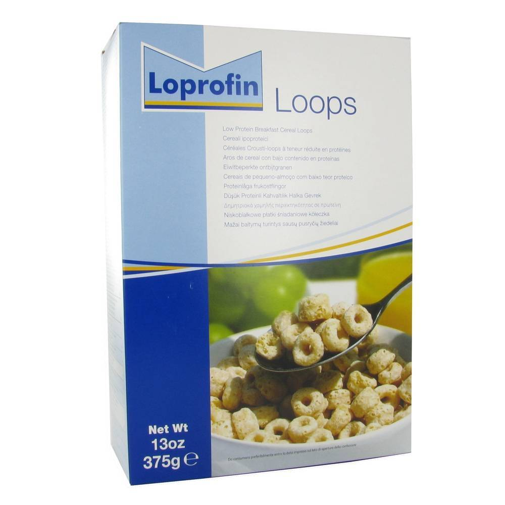 Nutricia Advanced Medical Loprofin Céréales Crousti-Loops 375 g 5016533627787