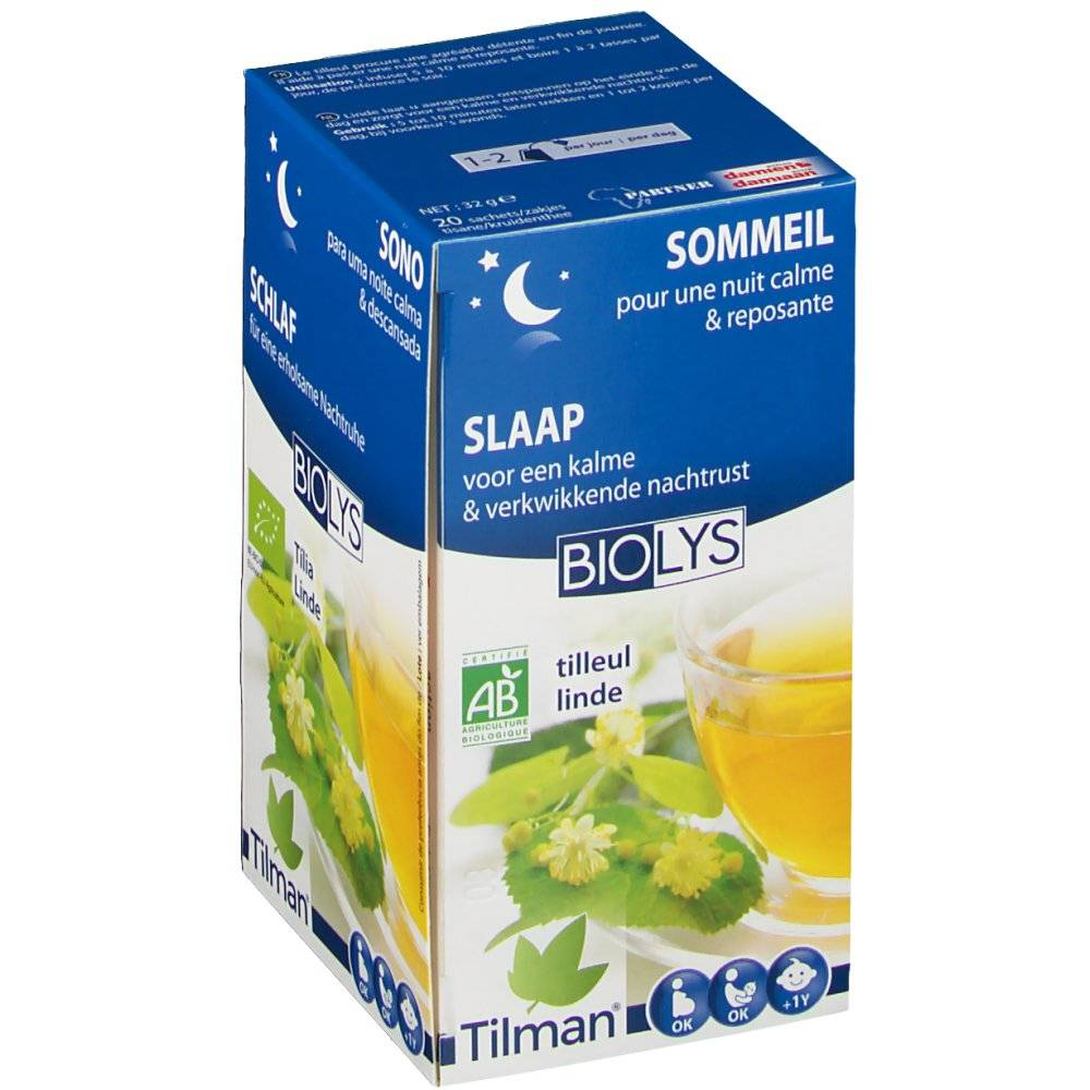 Tilman® Biolys Tilleul 20 g 5420024600690