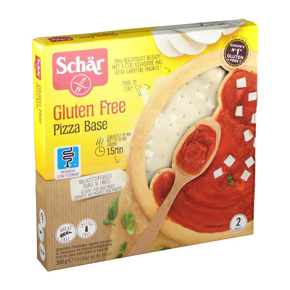 Revogan Schär Pizza Base 300 g 8008698002025
