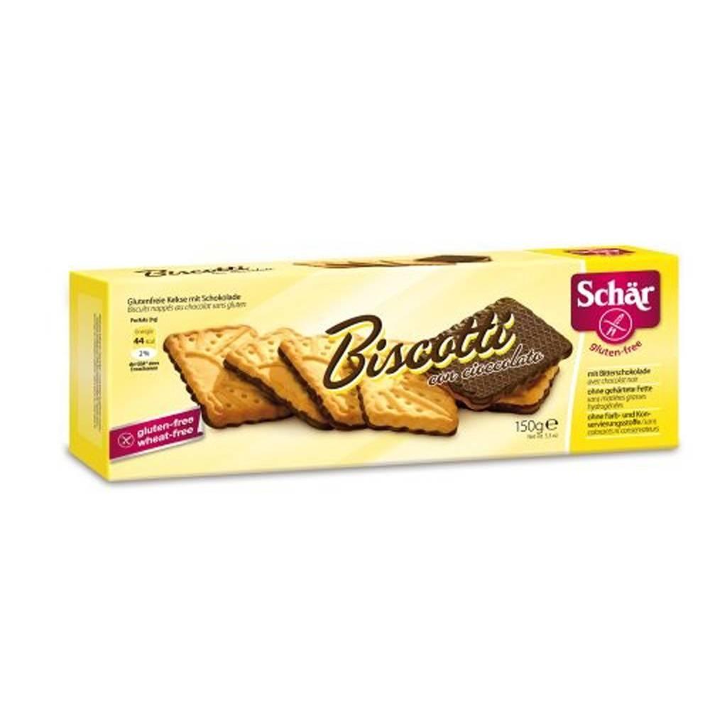 Revogan Schär Biscotti Au Chocolat 150 g 8008698005347