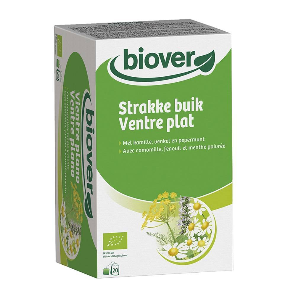 Biover N.v. Biover Ventre plat infusion bio 20 pc(s) 5412141200372
