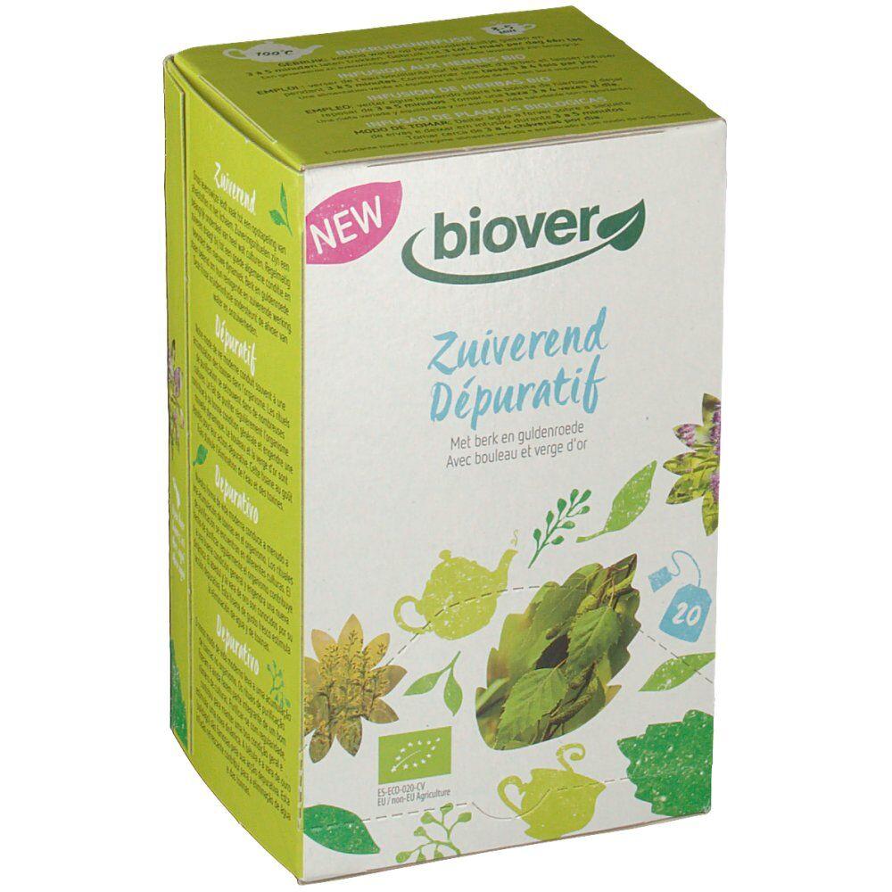 Biover Dépuratif infusion bio 20 pc(s) 5412141200457