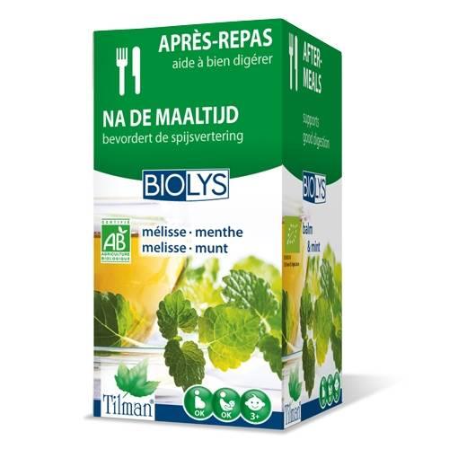 Tilman® Biolys Mélisse - Menthe 20 pc(s) 5420024600799