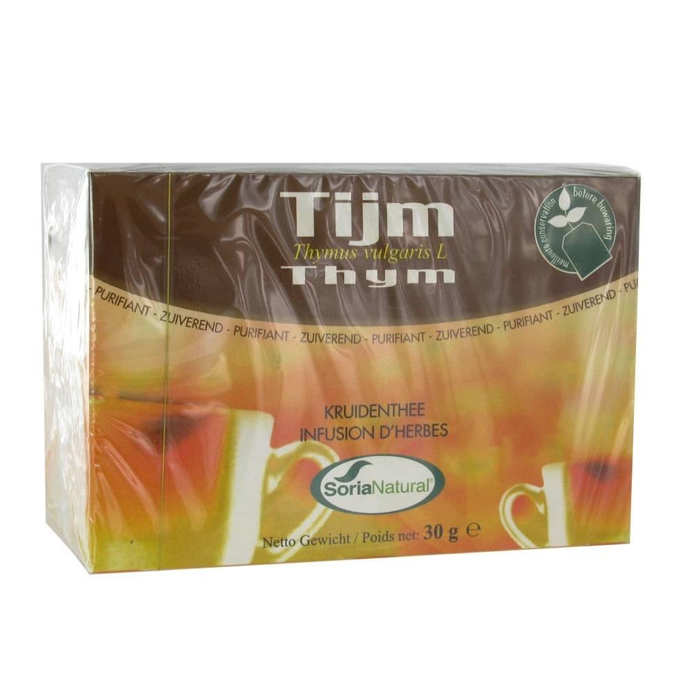 SoriaNatural® Soria Natural Tiym Thé 20 pc(s) 8422947030742