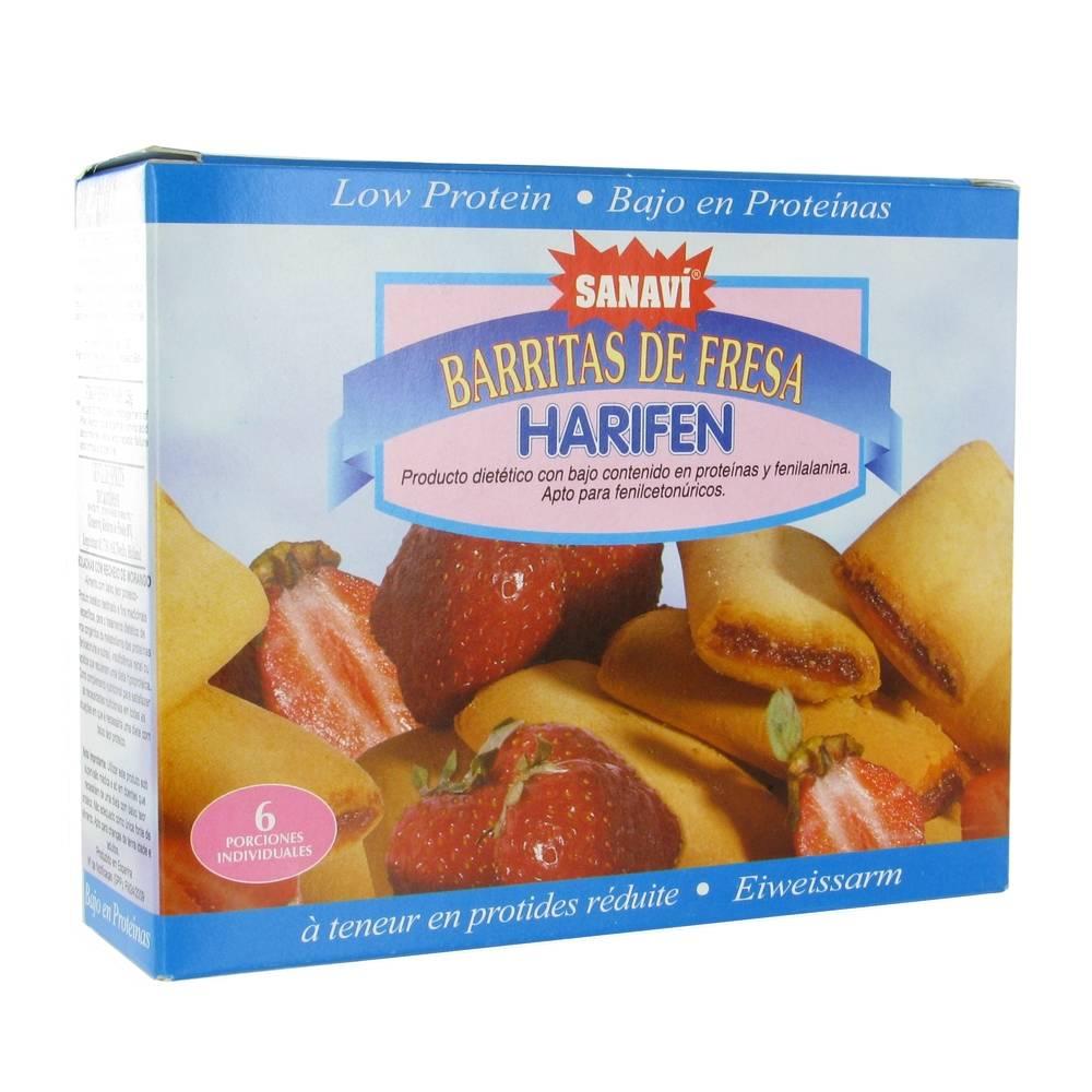 Lactalis Nutrition Sante Sanavi Harifen Biscuit Fraise 1 pc(s) 8425887005054