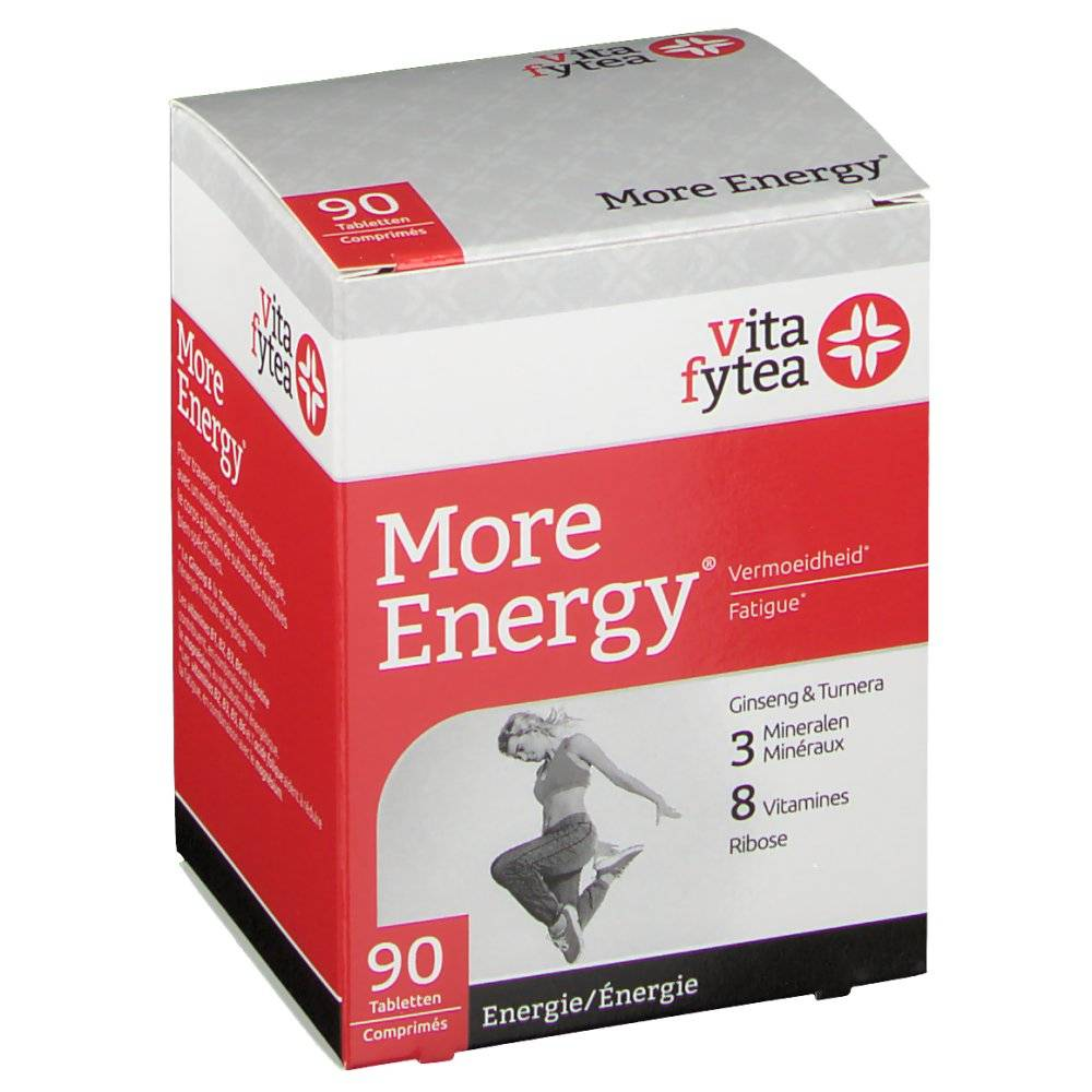 Omega Pharma Belgium NV Vitafytea More Energy 90 pc(s) 5425000679806