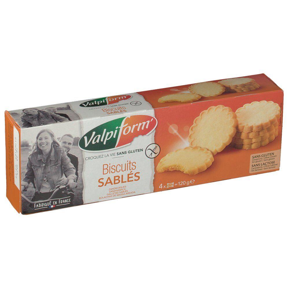 Revogan Valpiform Biscuits sablés 120 g 3700211224079