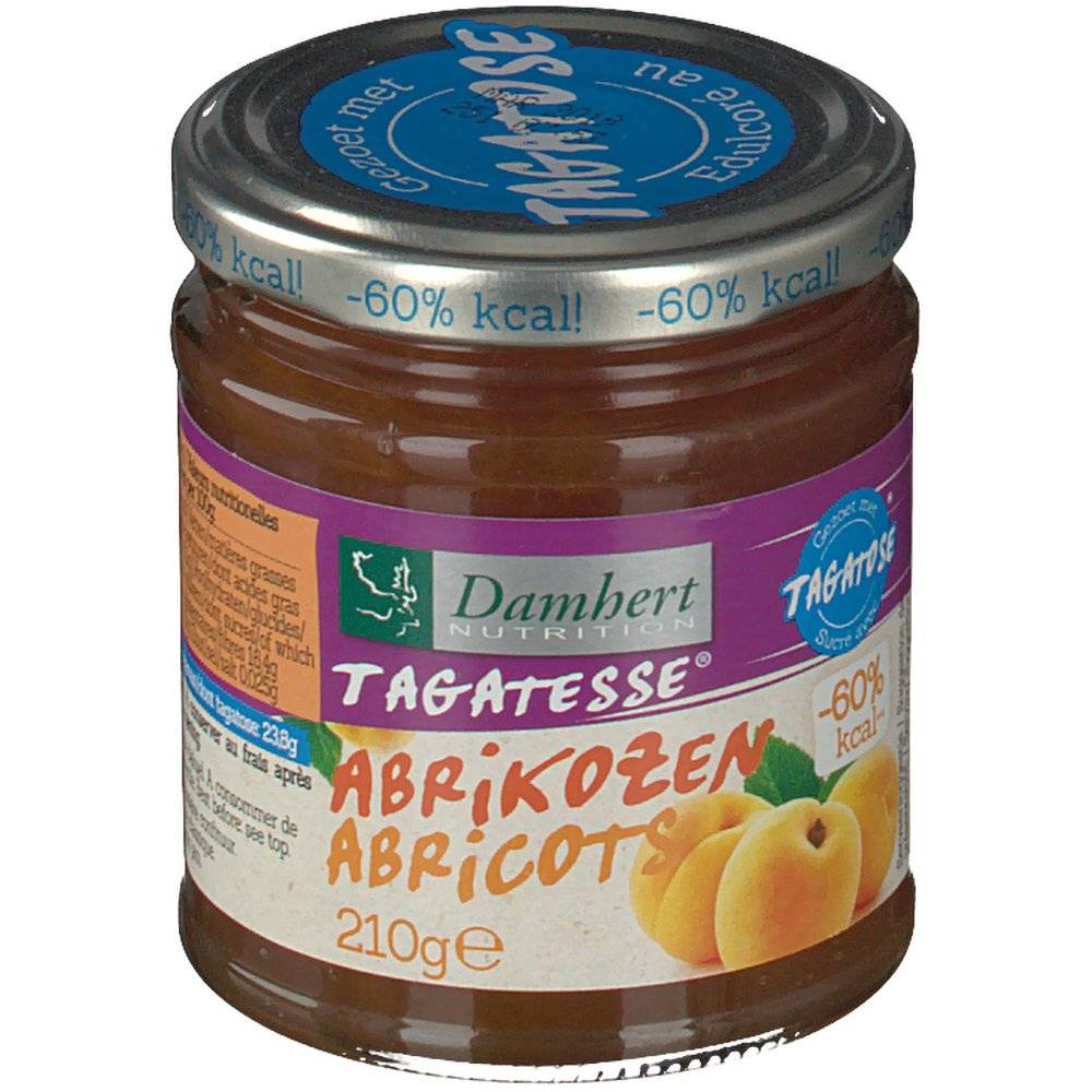 2Pharma OTC Damhert Confiture Diététique Abricot Tagatose 210 g 5412158003669