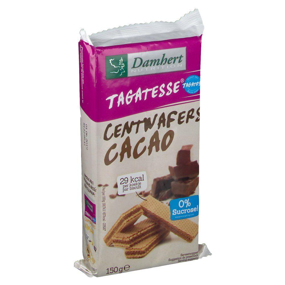 2Pharma OTC Damhert Centwafers Chocolat tagatose 150 g 5412158002426