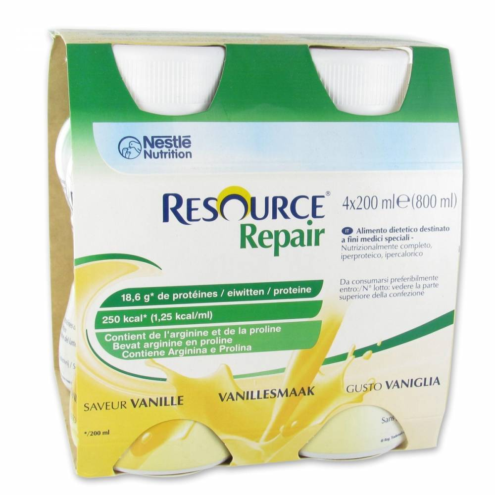 Nestlé Belgilux Resource Repair Vanille 800 ml 7613033450129