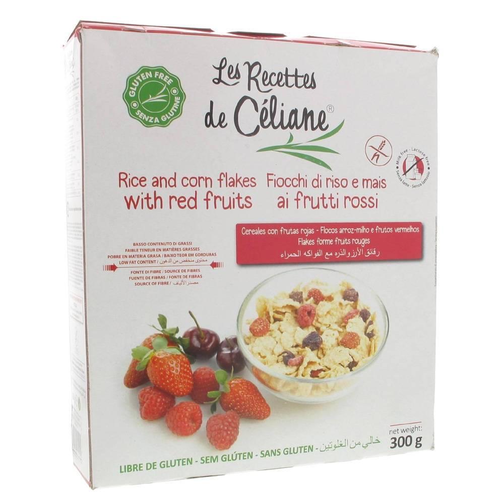 Les Préparations de Céliane® Celiane Fruits Rouges 300 g 3700566455005