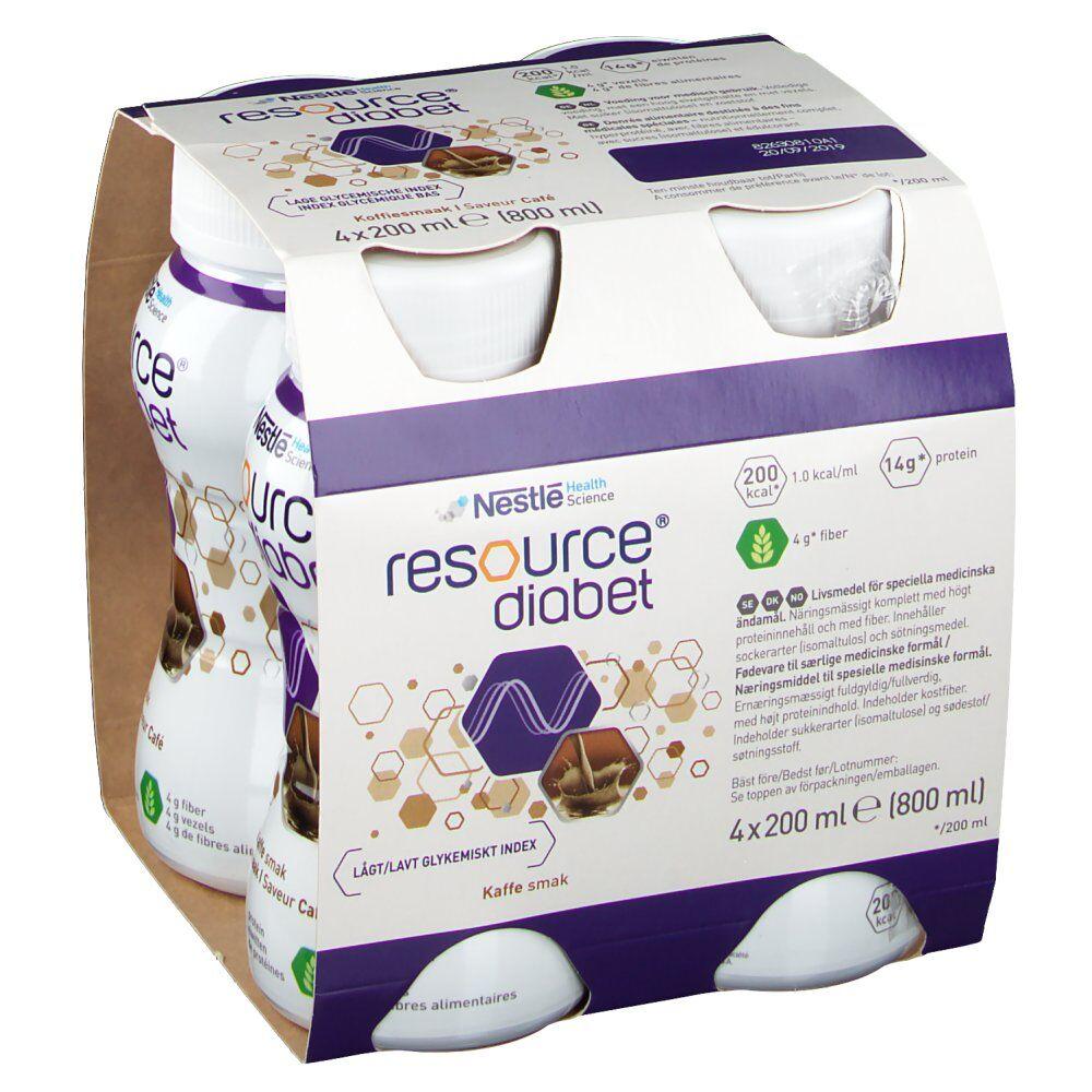 Nestlé Belgilux Resource Diabet Café 800 ml 7613033591129