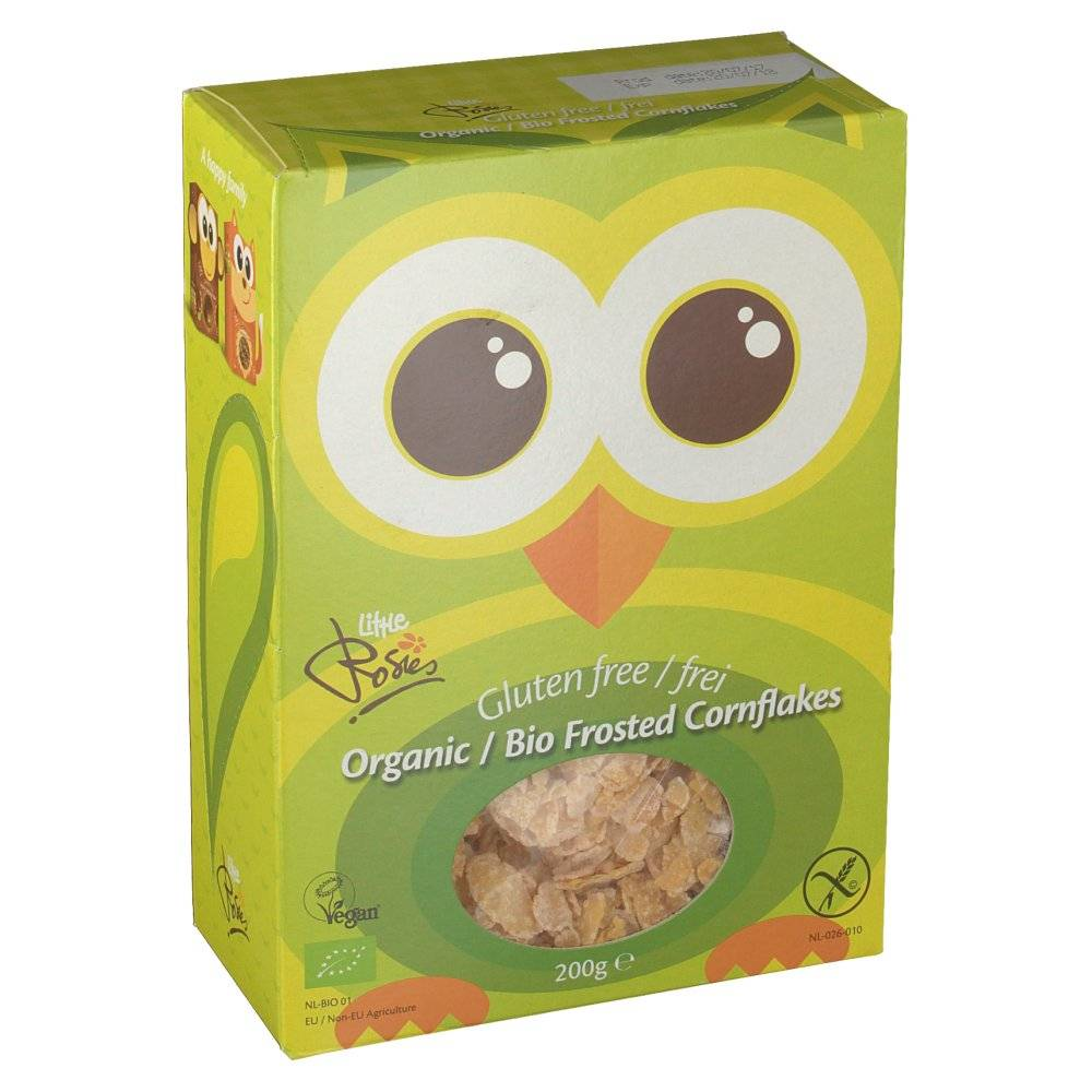 Rosies Frosted Cornflakes Bio 200 g 8714266104045