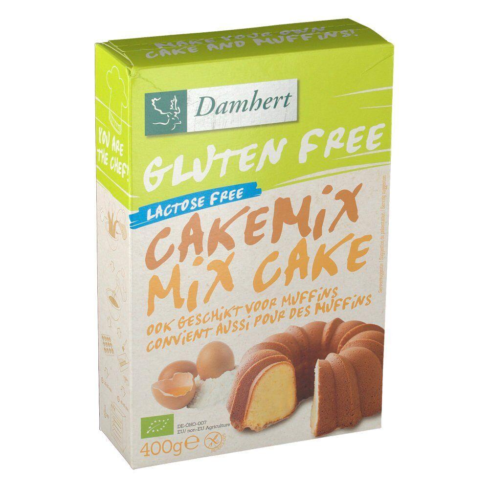 2Pharma OTC Damhert Gluten Free Mix pour cake BIO 400 g 5412158018212