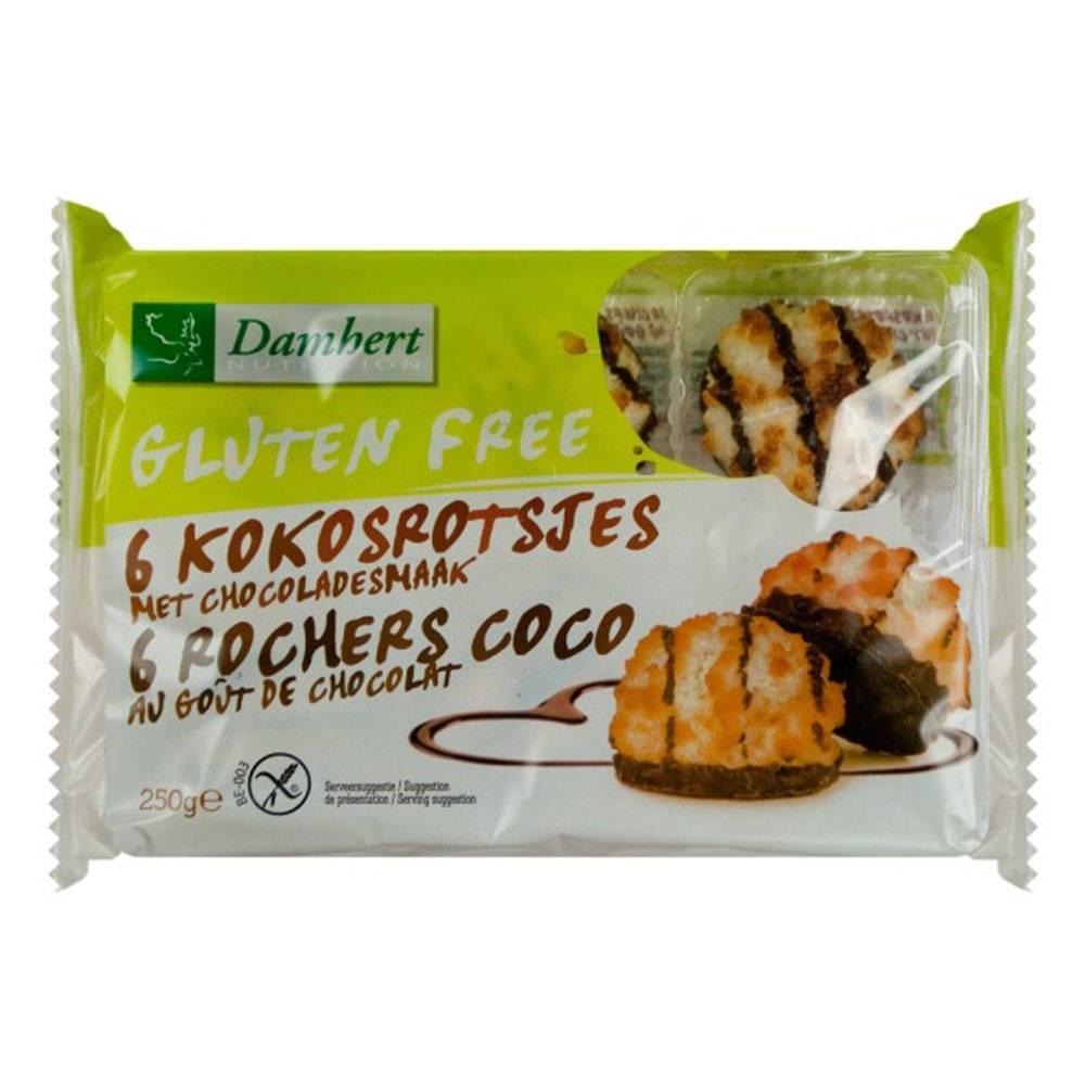 2Pharma OTC Damhert Coco Rocherz au Chocolate Sans Gluten 250 g 5412158006837