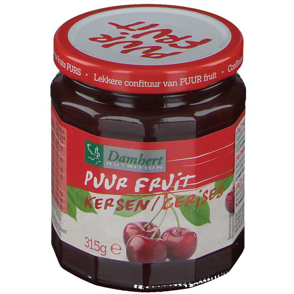 2Pharma OTC Damhert Puur Fruit Confiture aux cerises 315 g 5412158001740