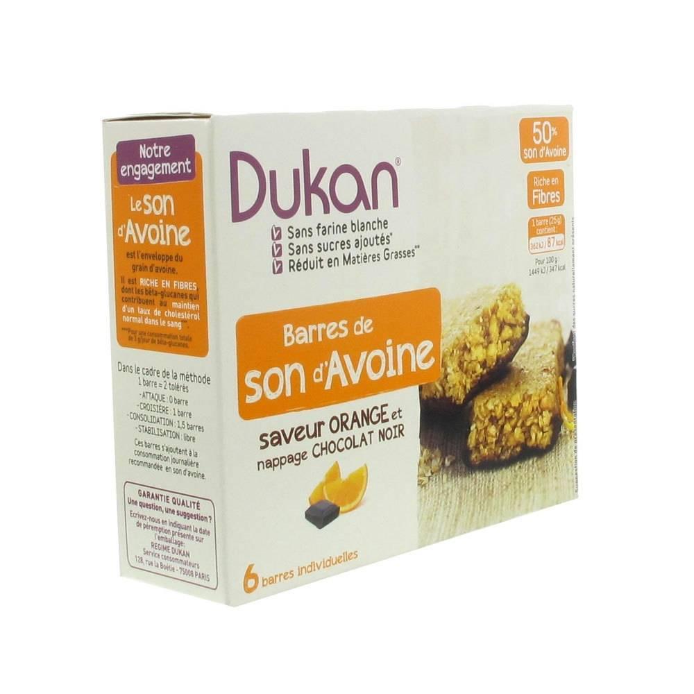 Europharma Group Dukan Barre Orange + Glaçage au Chocolat 6 pc(s) 3760151012464