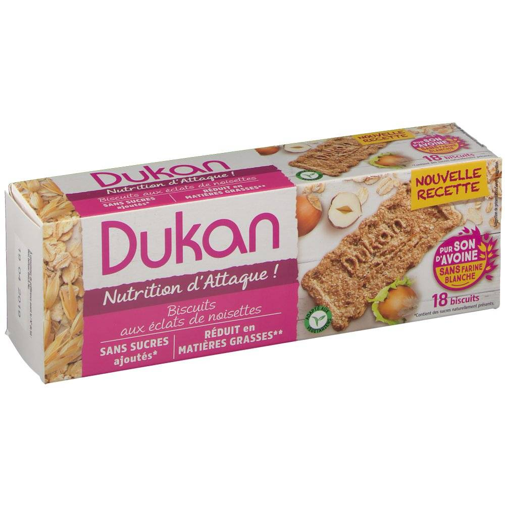 Europharma Group Dukan Biscuits Noisette 225 g 3760151011054