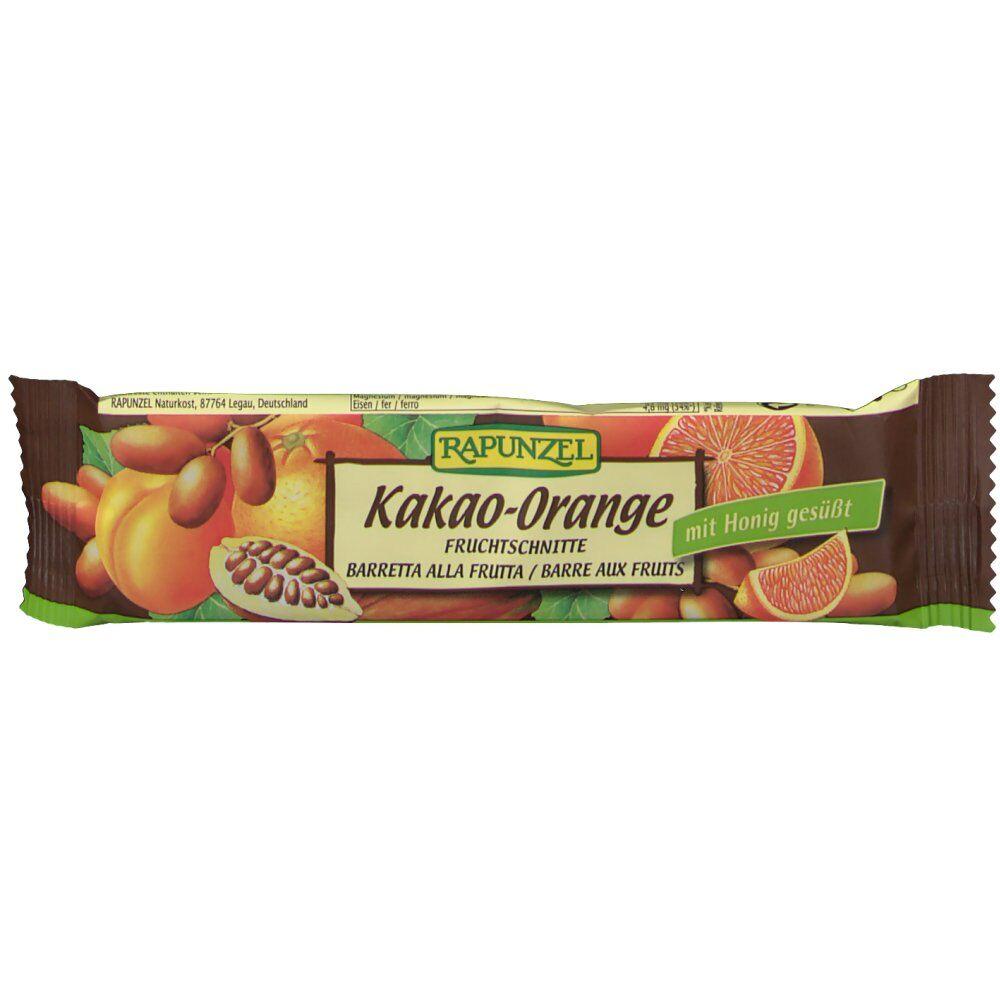Rapunzel Tranches de fruits Orange-Cacao 40 g 4006040312826