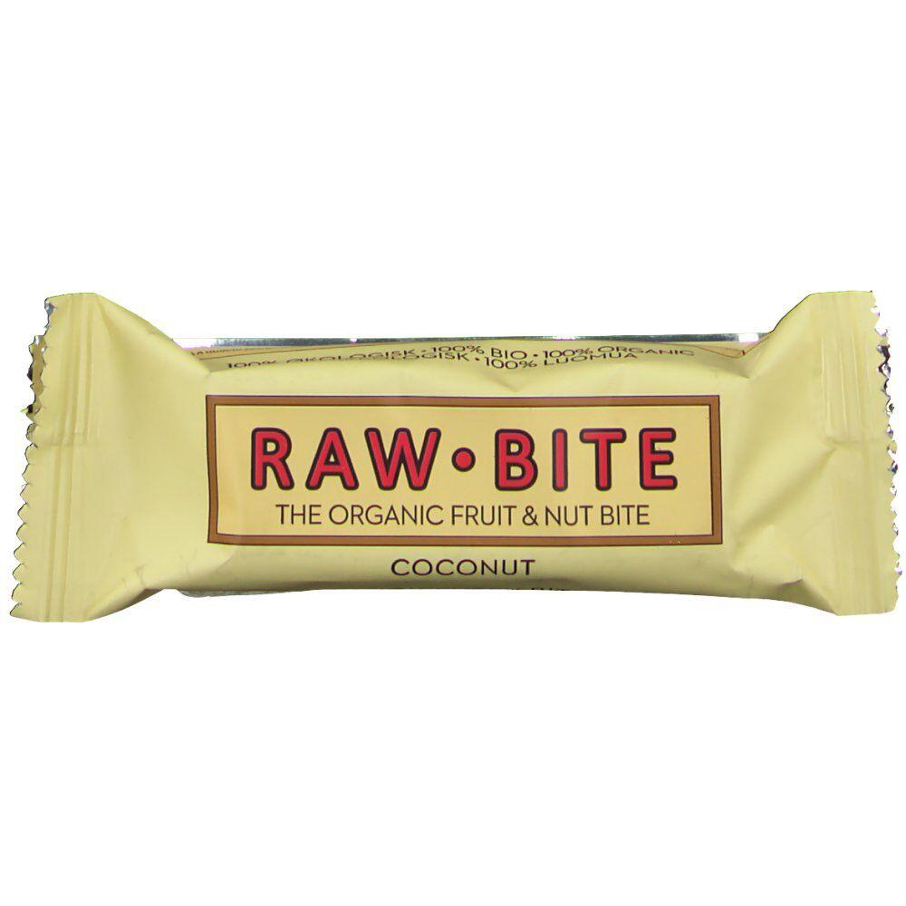 RAW Bite Bio Barres Noix de coco 50 g 5712840020036