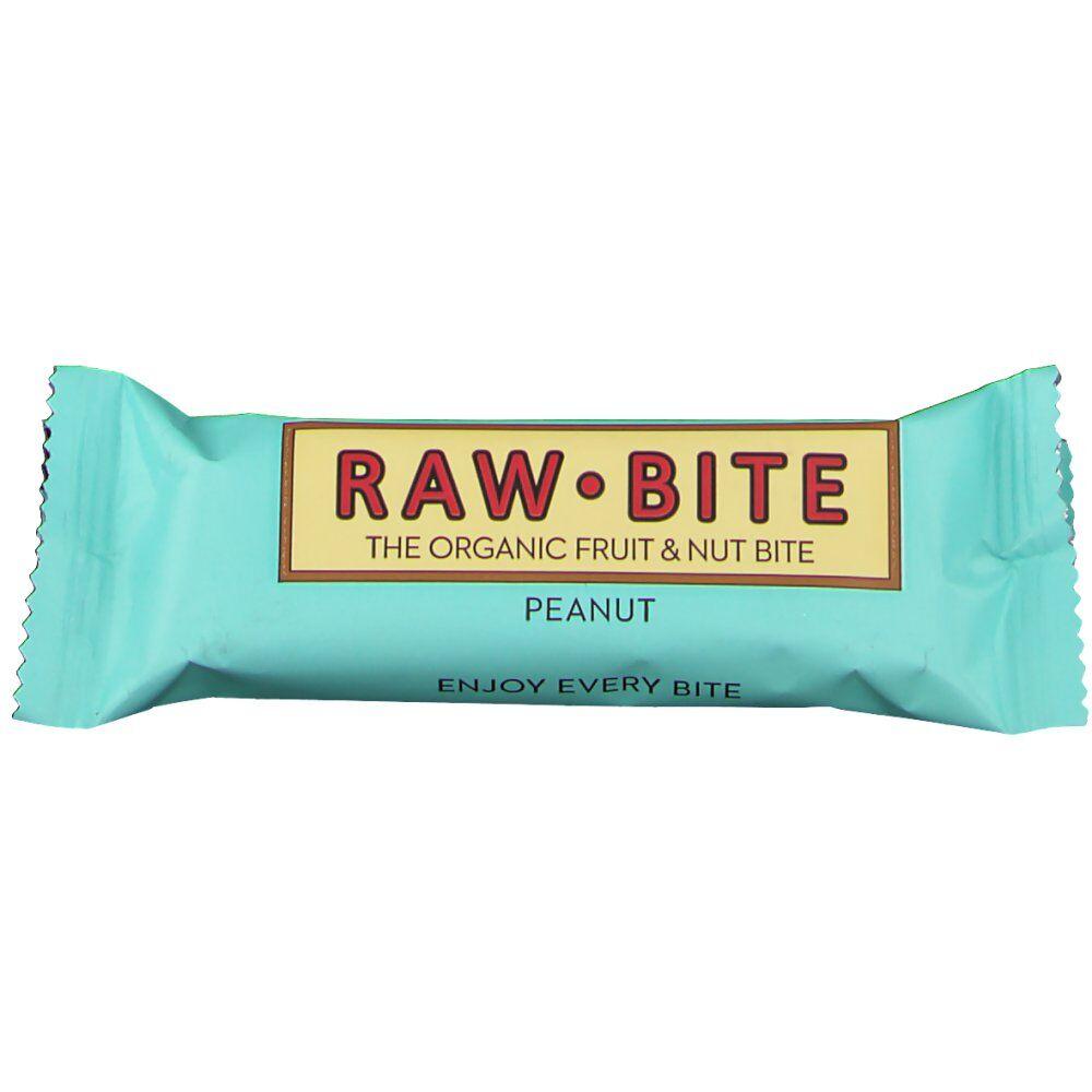 RAW Bite Bio Barres Cacahuète 50 g 5712840020050