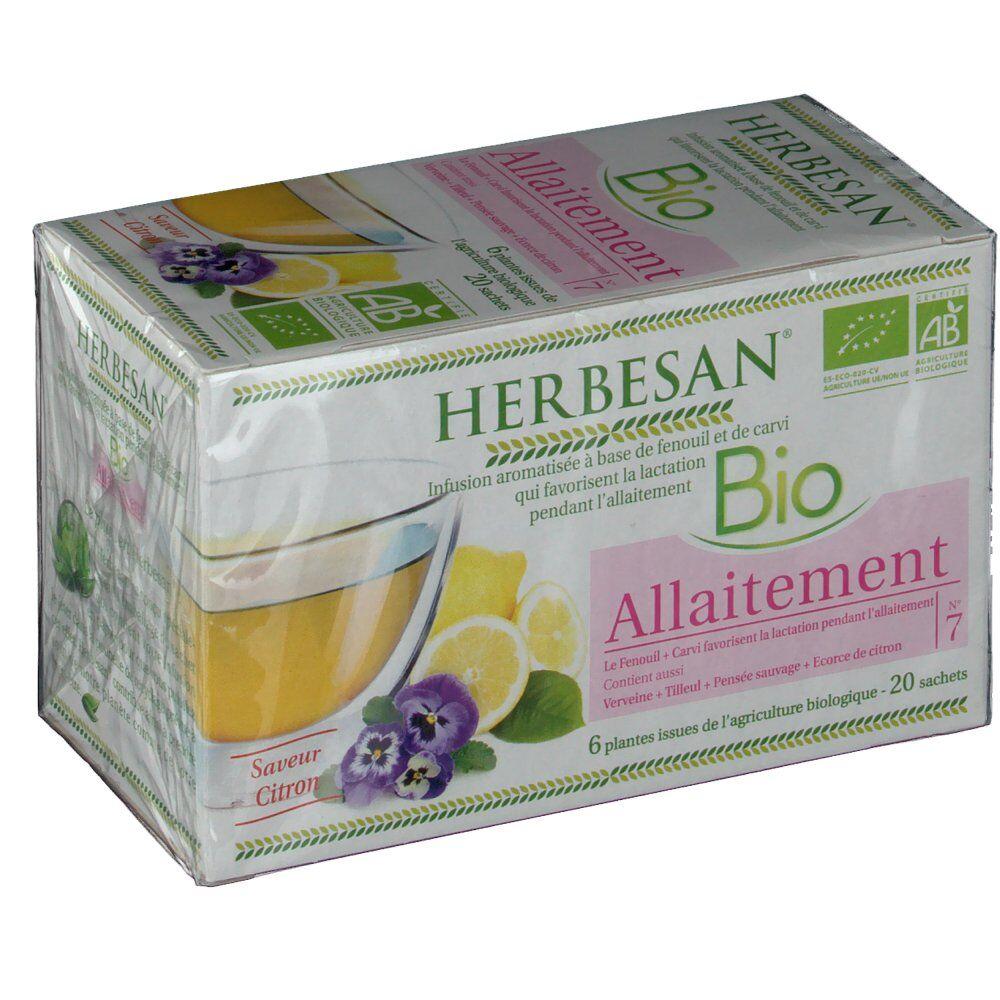 Herbesan® Herbesan infusion allaitement bio 20 pc(s) 3428883635008