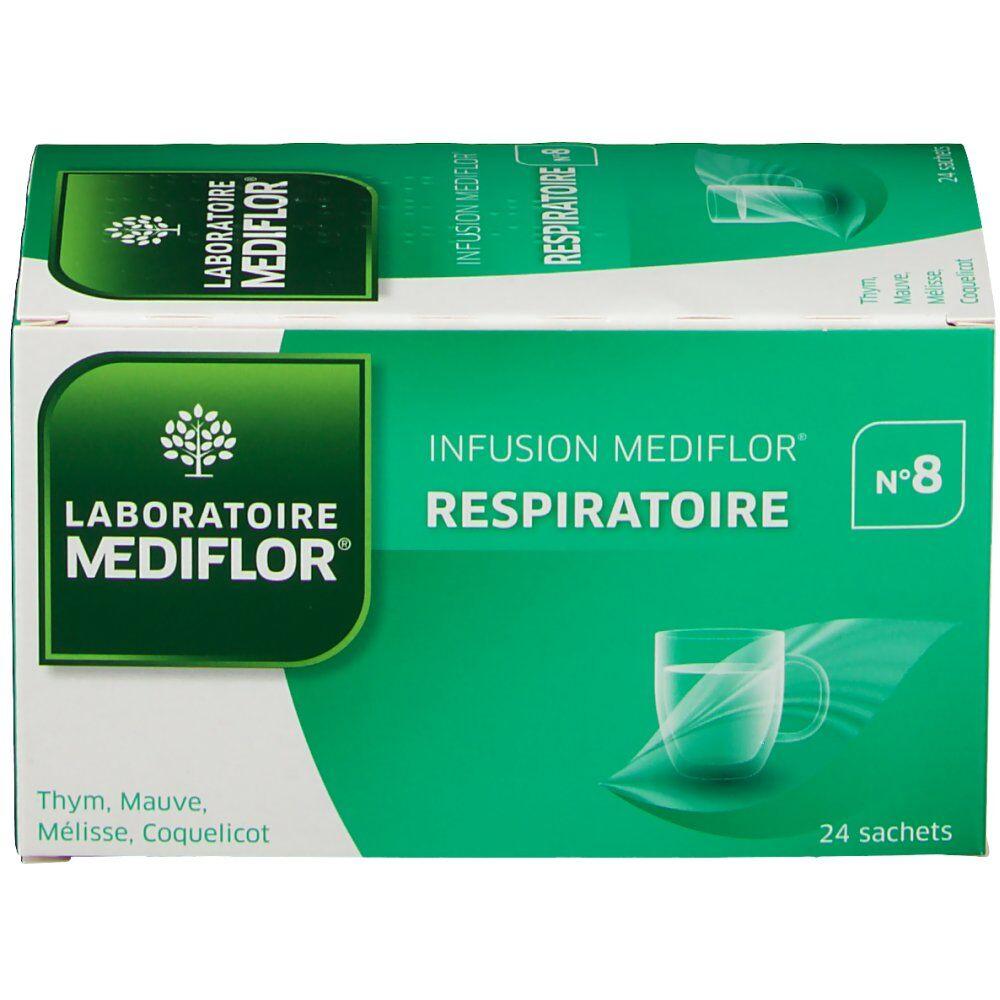 Mediflor® Laboratoire Mediflor® 8 tisane respiratoire 24 pc(s) 3401597467356