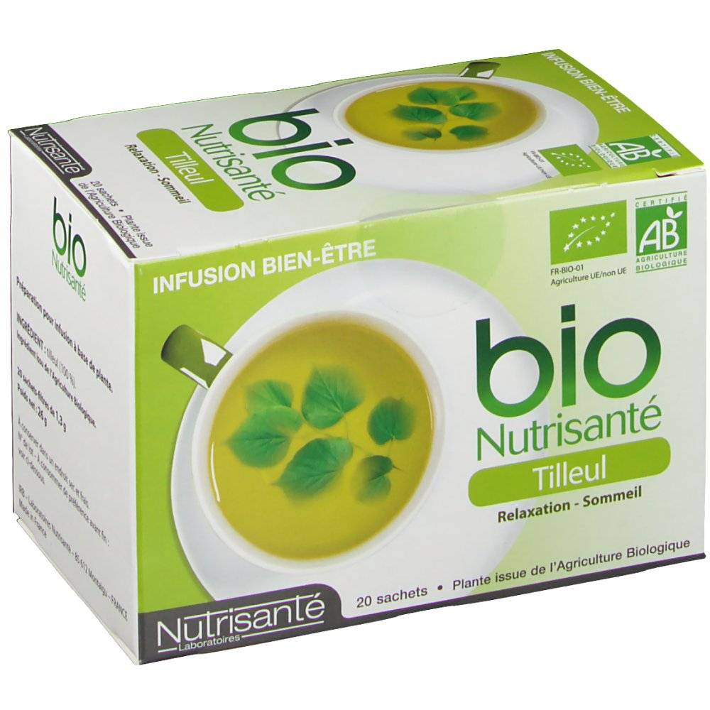 bio Nutrisanté Tilleul 20 pc(s) 3515450011836