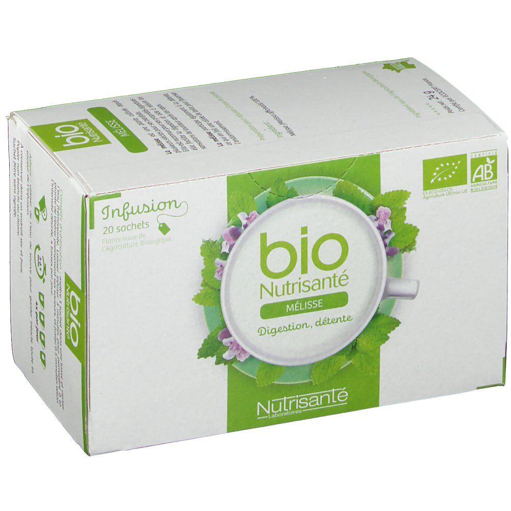 Nutrisanté Bio Nutrisanté Infusion Mélisse 20 pc(s) 3515450025482