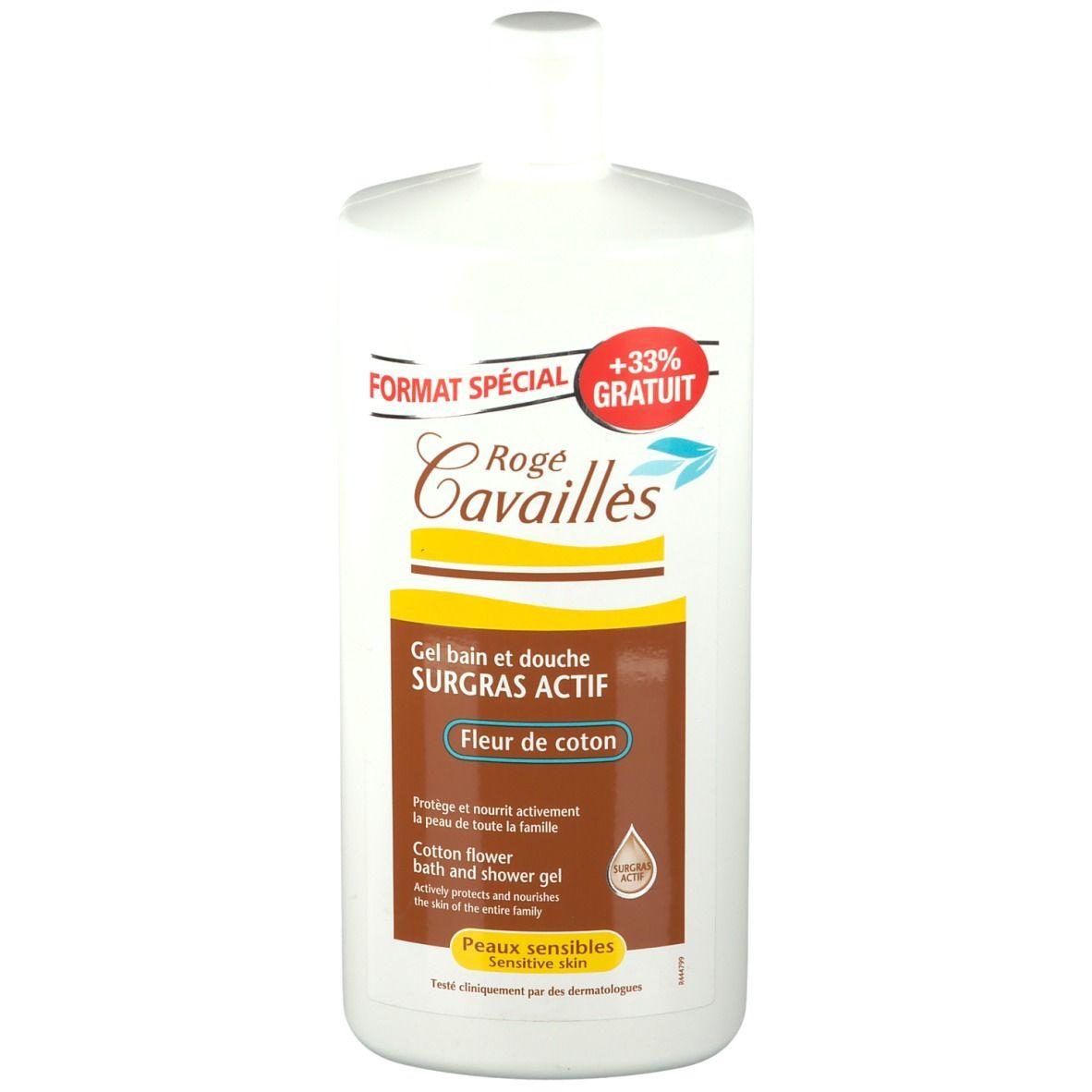 Rogé Cavaillès Gel surgras bain et douche fleur de coton ml gel douche