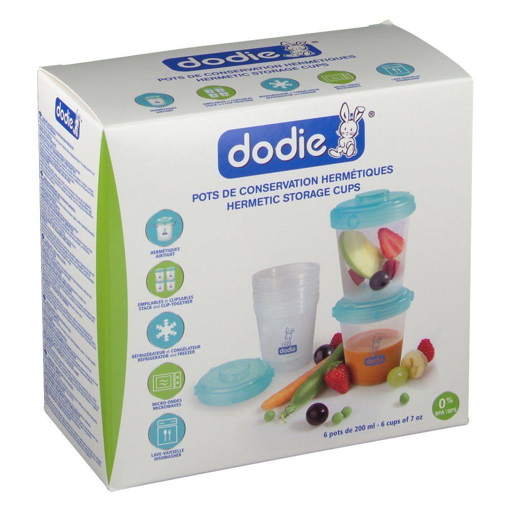 dodie® Pots de conservation hermétiques pc(s)