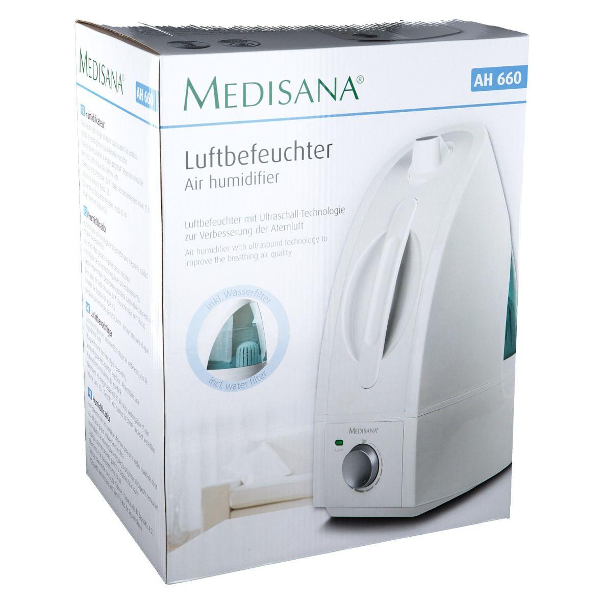 Medisana® Humidificateur d'Air AH660 pc(s) dispositif(s) de lecture