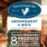 MADE IN FRANCE BOX Abonnement 6 mois ABONNEMENT BOX MENSUELLE SANS ENGAGEMENT... par LeGuide.com Publicité
