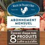 MADE IN FRANCE BOX Abonnement Mensuel Sans Engagement résiliable à tout... par LeGuide.com Publicité