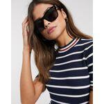 vero moda  Vero Moda - Lunettes de soleil carrées-Noir taille: No Size... par LeGuide.com Publicité