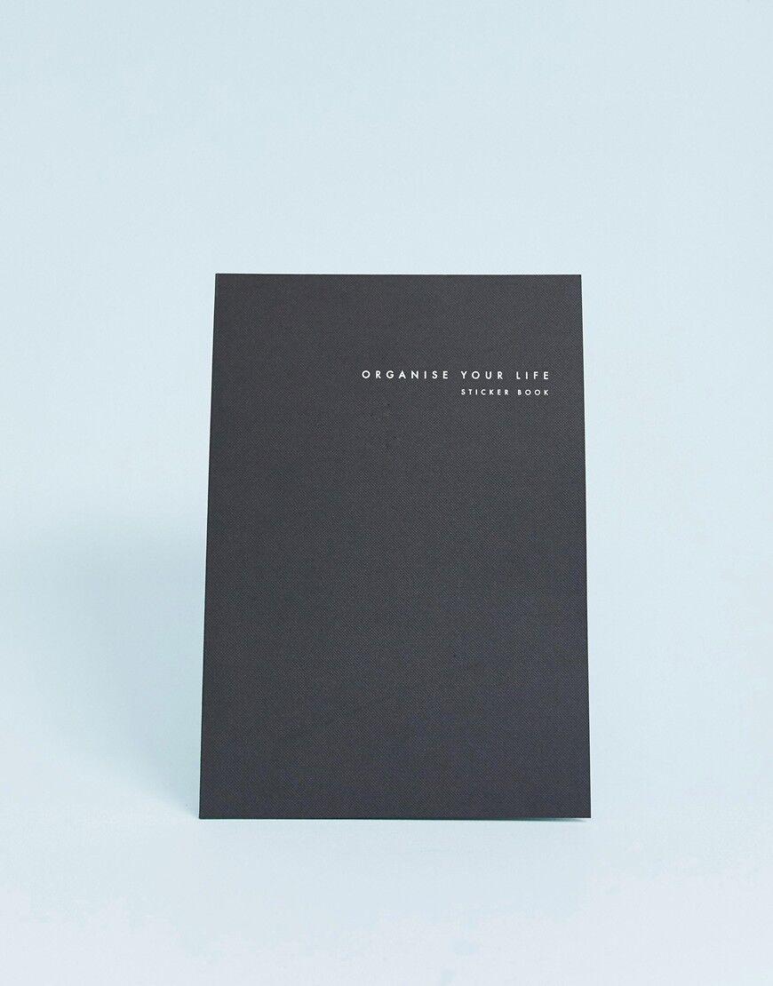 Kikki K - Livre d'autocollants « Organise your life sticker book - Multi