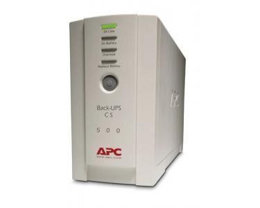 APC Back-UPS Veille 500VA 4sortie(s) CA Tour Beige alimentation d'énergie non interruptible