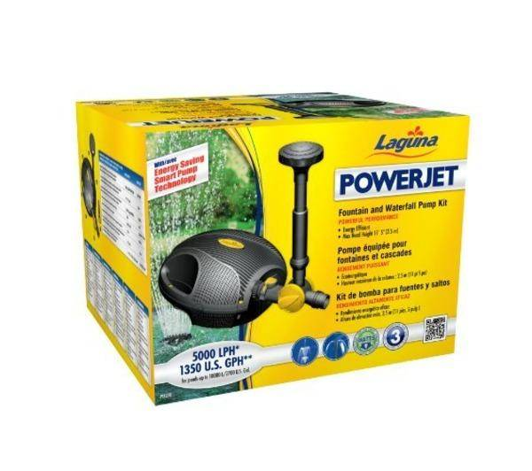 AMAZON Pompe d'Ornement Powerjet 1500 Débit 5000 L/H
