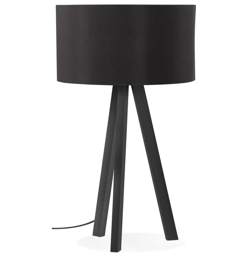 Alterego Lampe à poser design 'SPRING MINI' avec abat-jour et trépied