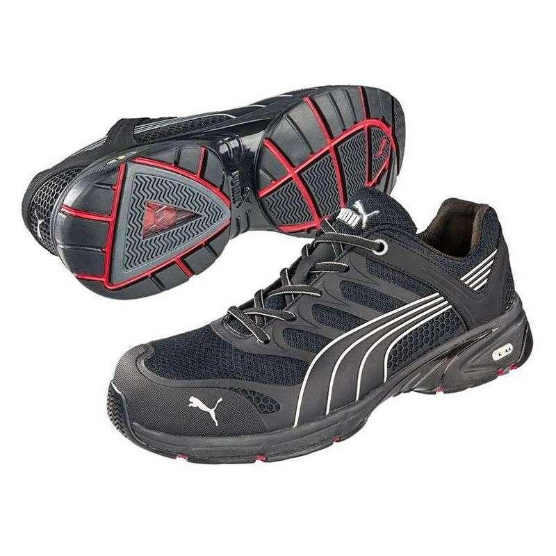 PUMA Chaussures de Sécurité Basse PUMA MOTION Protect 64.258.0 Fuse Motion Low S1P HRO SRA Noire - Taille - 41
