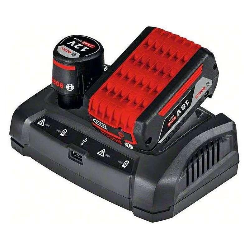 BOSCH PRO Chargeur multi-voltage BOSCH PRO GAX 18V-30